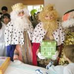 Los Reyes Magos llegan al Hospital de Guadalajara